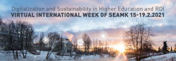 Virtual International Week organized by SeAMK